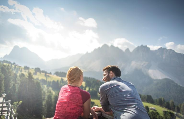 Ski & Wandergebiet Plose - Blick auf die Dolomiten
