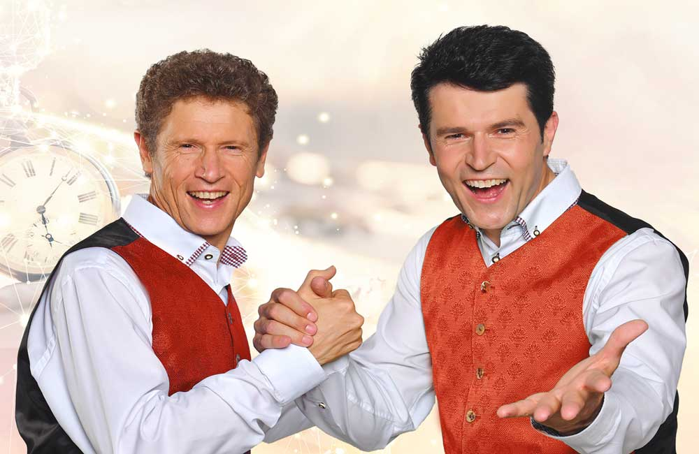 Weihnachtskonzert Meransen Vincent & Fernando Südtirol Hotels Konzerte Musikreisen
