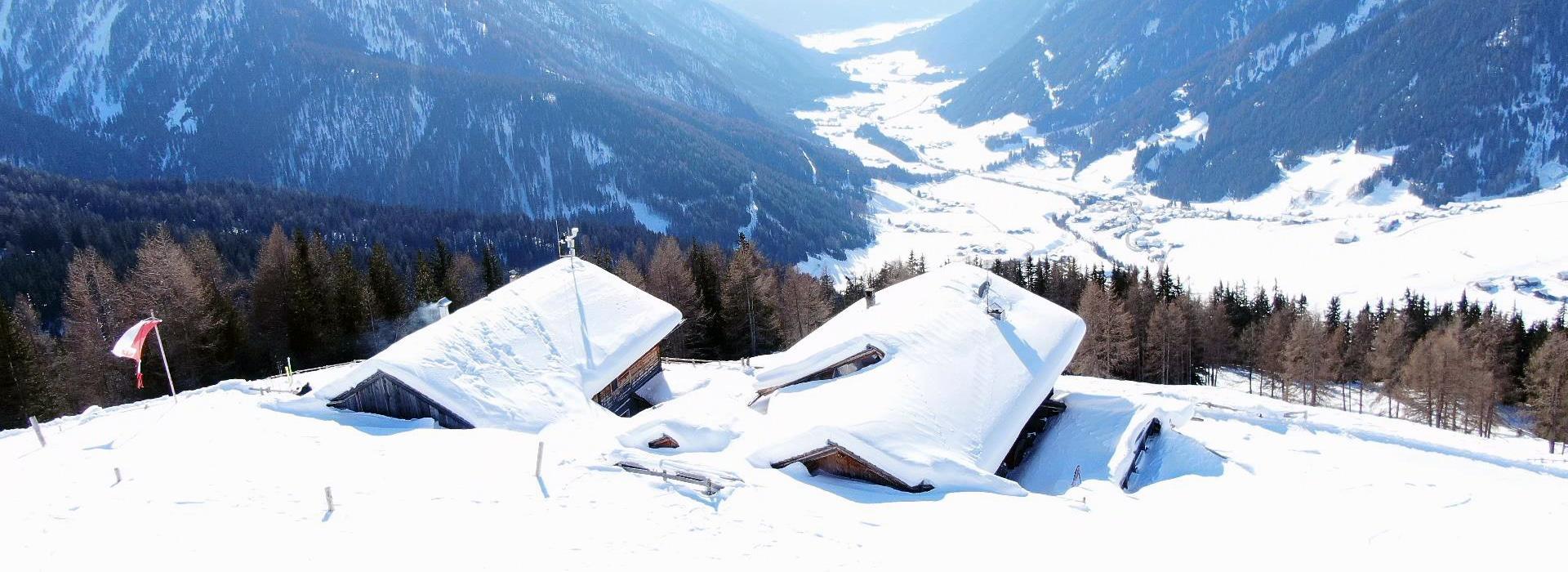 Uwaldalm- Gsiersertal - Pustertal - Almen in Südtirol – Winterwandern Eisacktal - I mog südtirol – Wandern in Südtirol