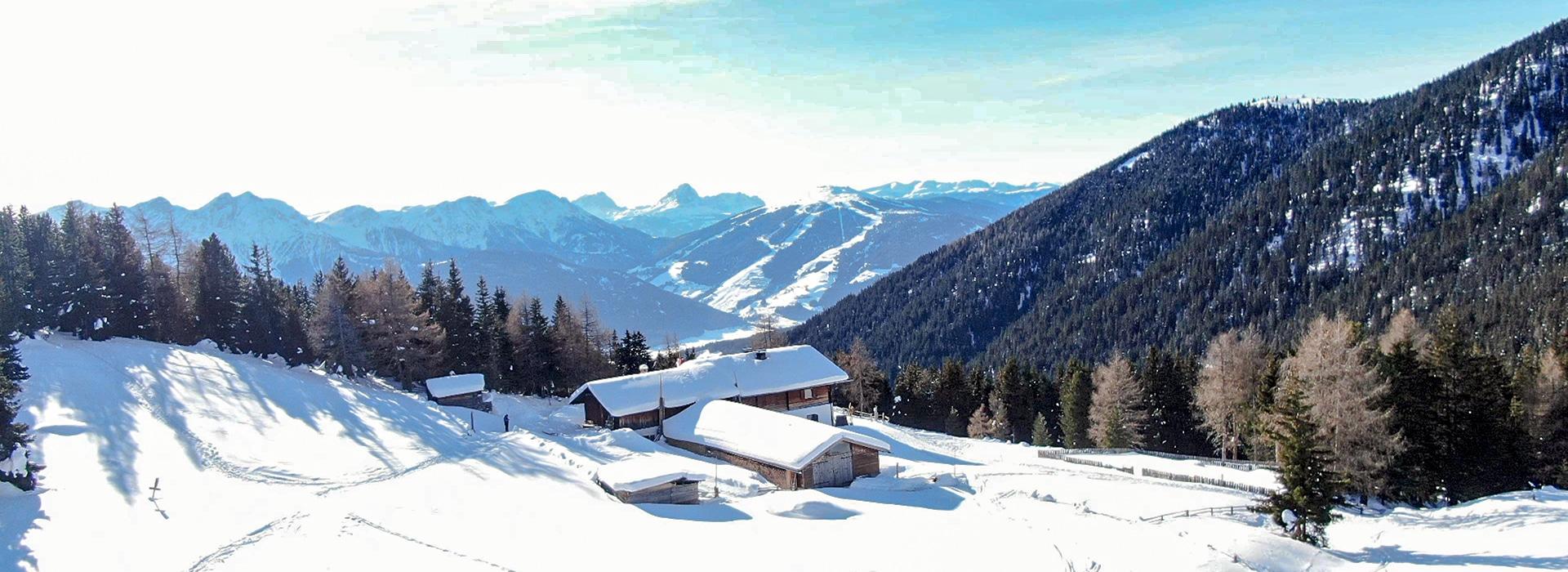 Wintertour Südtirol - Taistneralm