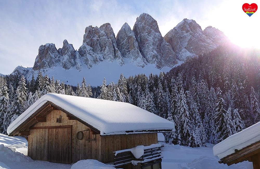 Wintertour zur Gampenalm