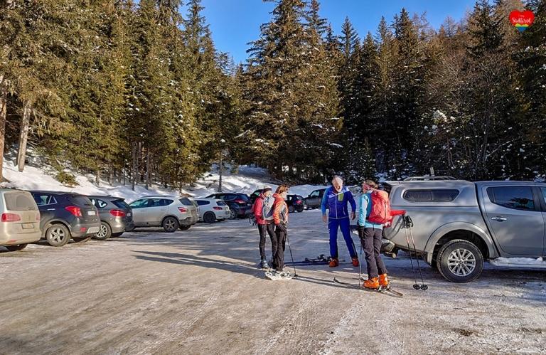 Wintertour zur Taistneralm - Südtirol