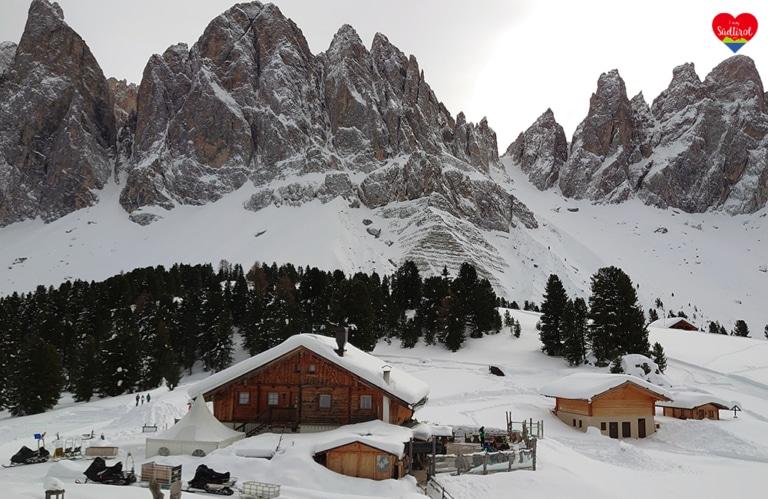 Winterwanderung Villnösstal - Geislerhütte