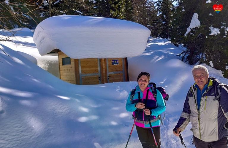 Wintertour zur Stumpfalm