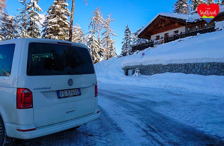 Winterwanderung auf der Rodeneckeralm