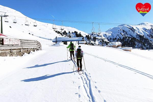 Wintertour Obereggen zur Ganischgeralm