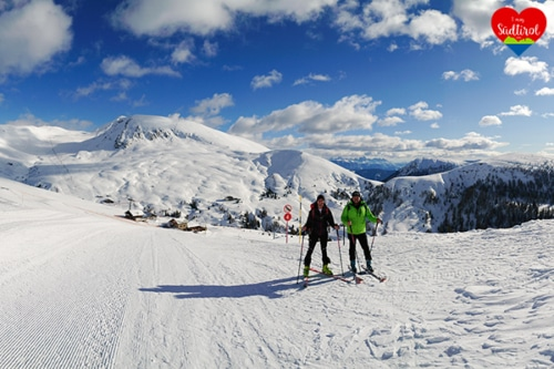 Skitour Meran 2000 im Winter