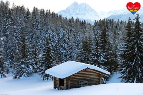 Wanderung von Zumis zur Ronerhütte im Winter