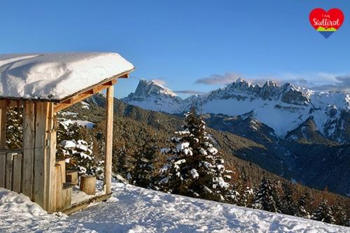 Winterwanderung auf der Plose zur Rossalm (Südtirol)