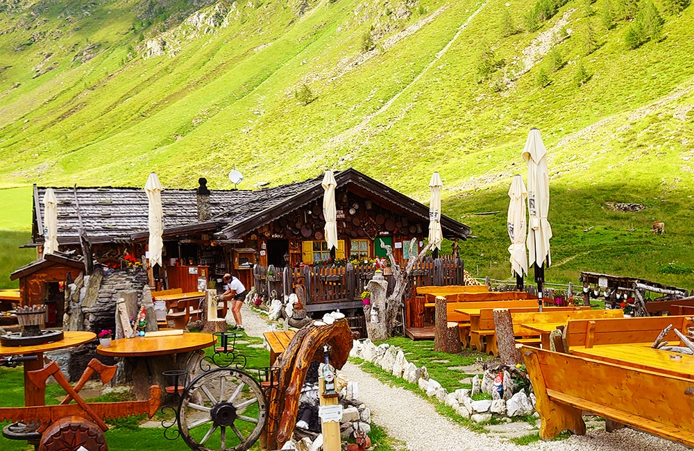 Wanderung ins Altfasstal - Stadlhütte