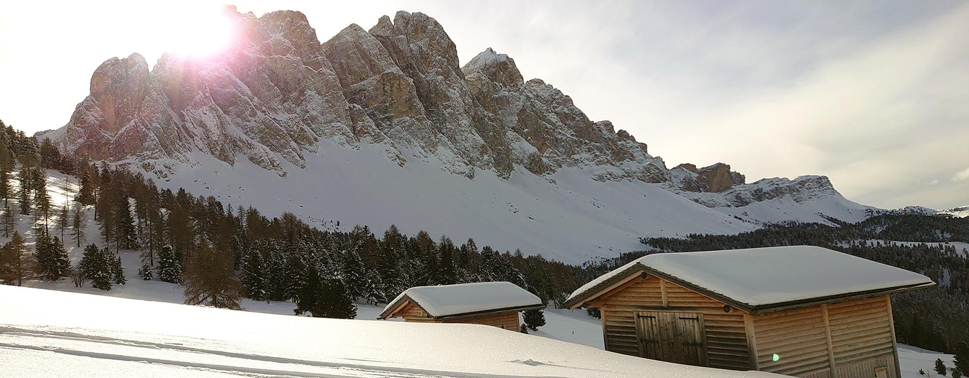 Gampenalm - Winterwandern Villnösstal