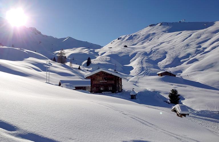 Mahlknechthütte -Seiseralm - Winter - Südtirol