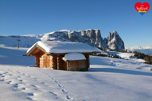 Rundwanderung Seiseralm (Winter Südtirol)