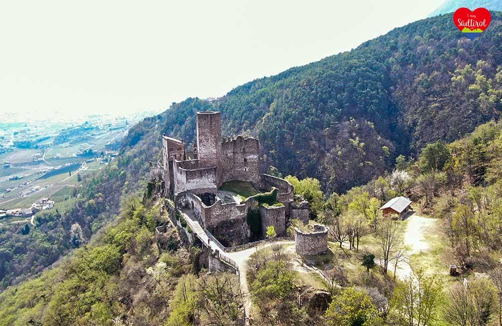 Drei Burgenwanderung - Burg Hocheppan