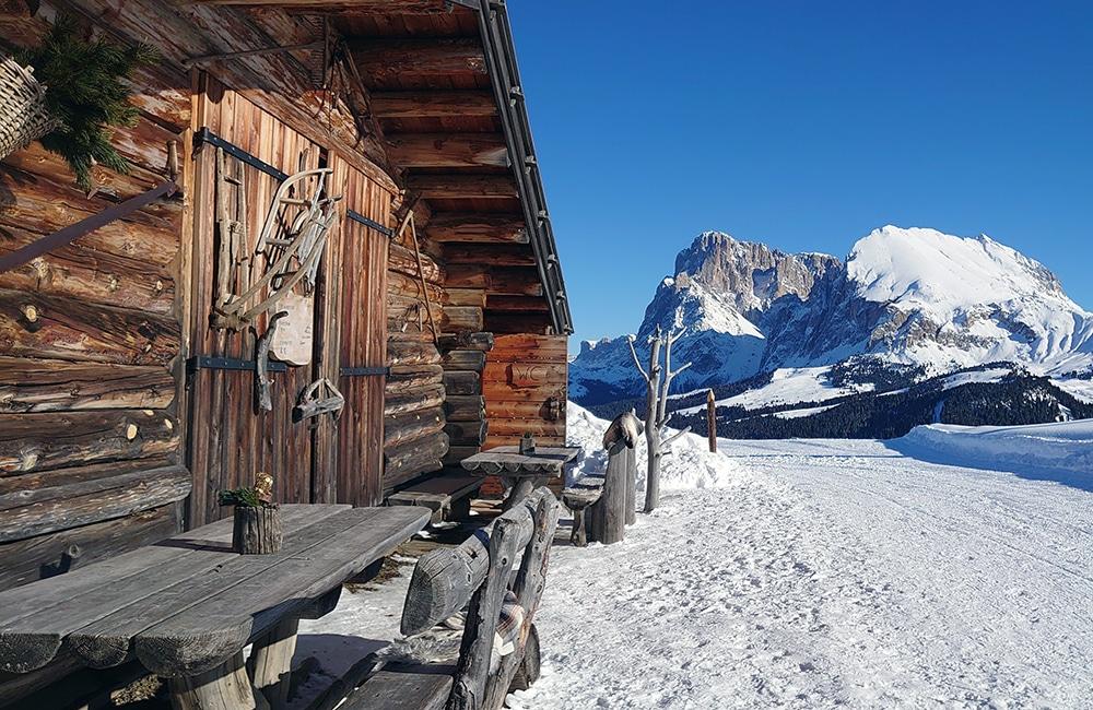 Edelweißhütte - Seiseralm - Wandern in Südtirol