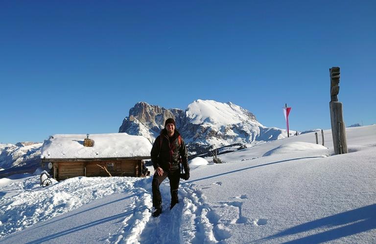 Edelweißhütte - Seiseralm - Winter