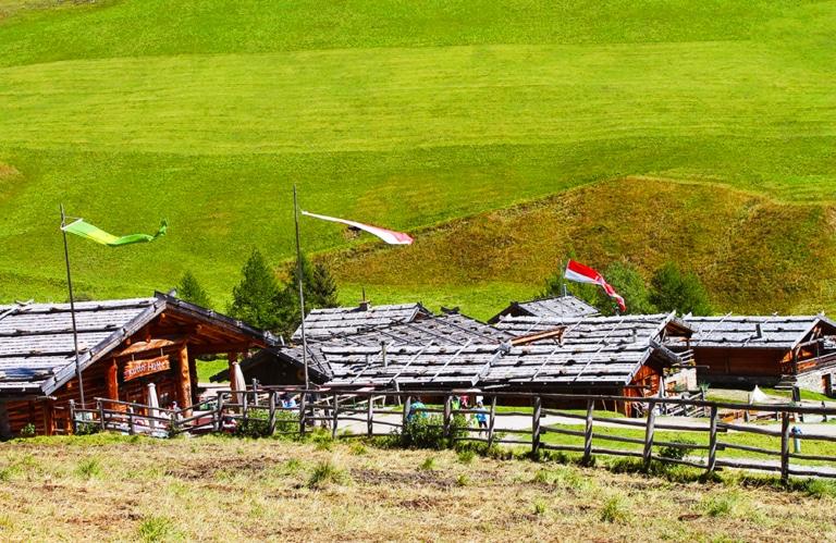 Fane Alm – Fane Almdorf – Vals – Eisacktal – Almen in Südtirol - Imog südtirol – Wandern in Südtirol