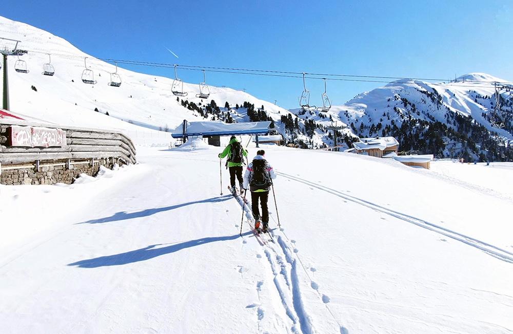 Obereggen – Ganischgeralm – Almen in Südtirol – Winterwandern Südtirol - I mog südtirol – Wandern in Südtirol -Skigebiet Obereggen