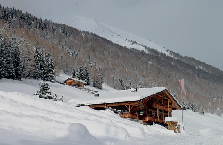 Großberghütte Altfasstal bei Meransen -Almen in Südtirol