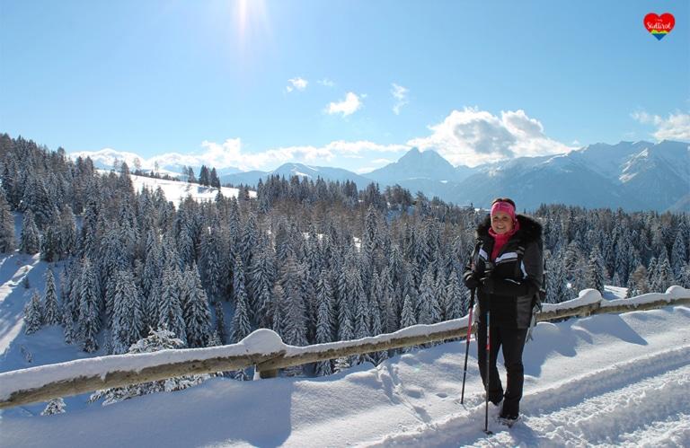 Winterwanderung auf der Rodeneckeralm -