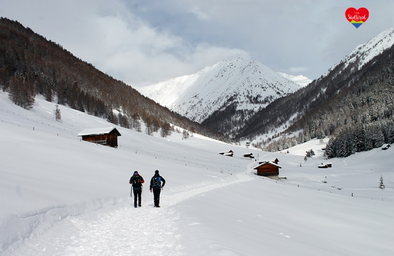 Altfasstal - Meransen - Almen in Südtirol – Winterwandern Eisacktal - I mog südtirol - Wandern in Südtirol – Urlaub in Südtirol – Hotels Südtirol