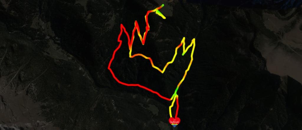 Karte Tour Geisler