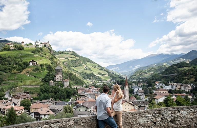 Aussicht Kloster Säben auf Klausen © IDM- Alex Filz