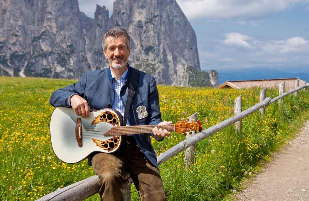 Vatertagsfet mit Oswald Sattler Individualreisen Südtirol Konzerte Musikreisen