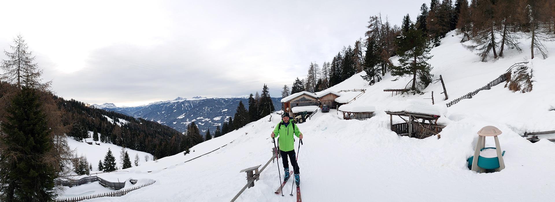 Moarhofalm - Almen in Südtirol – Meransen – I mog südtirol – Wandern in Südtirol - Winterwandern