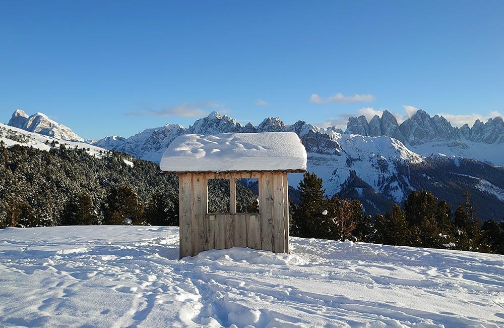 Plose - Winterwanderung - Rossalm