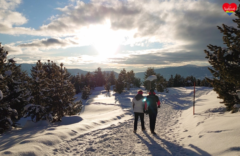 Winterwanderung Rossalm - Rückweg