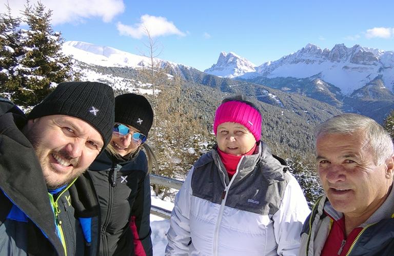 Plose - Winterwanderung zur Rossalm