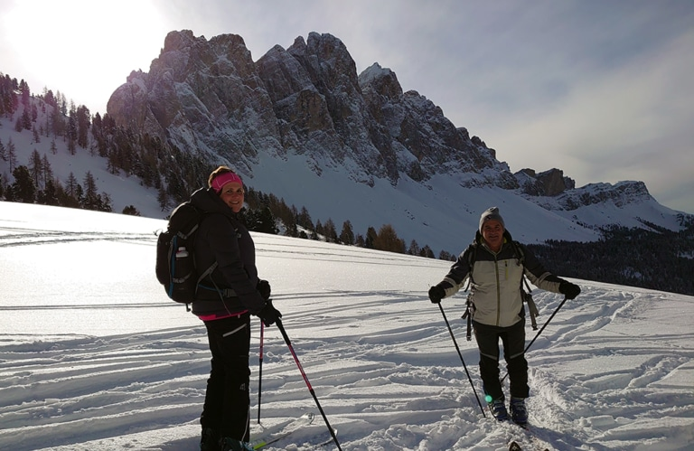 Gampenalm - Villnösseralm - Winterwandern