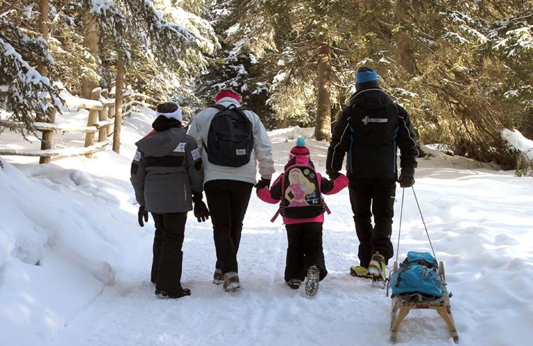 Rodeneckeralm Winterwandern