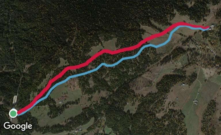 Rodeneckeralm. Wiinerwandern - Almhütten Südtirols