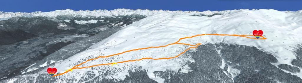 Winterwanderung Rossalm - Tourenübersicht