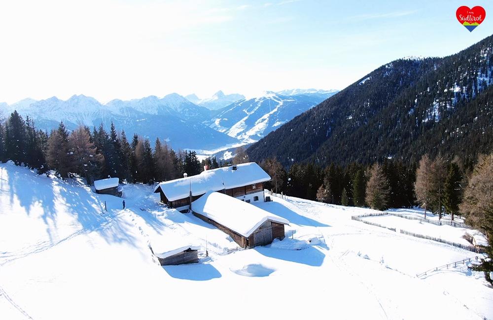 Wintertour zur Taistneralm