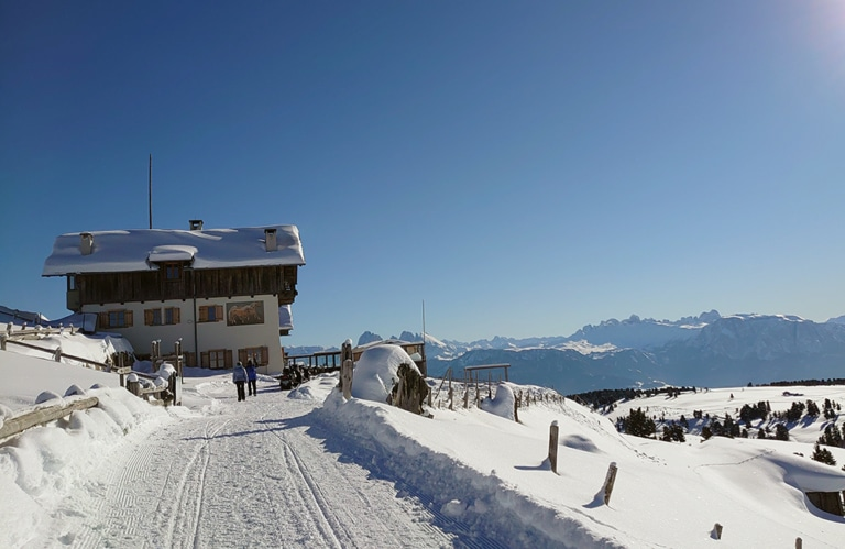 Stöfflhütte - Villanderer Alm - Winterwandern