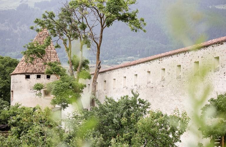 Stadtmauern in Rund um Glurns © IDM -Angelika Schwarz