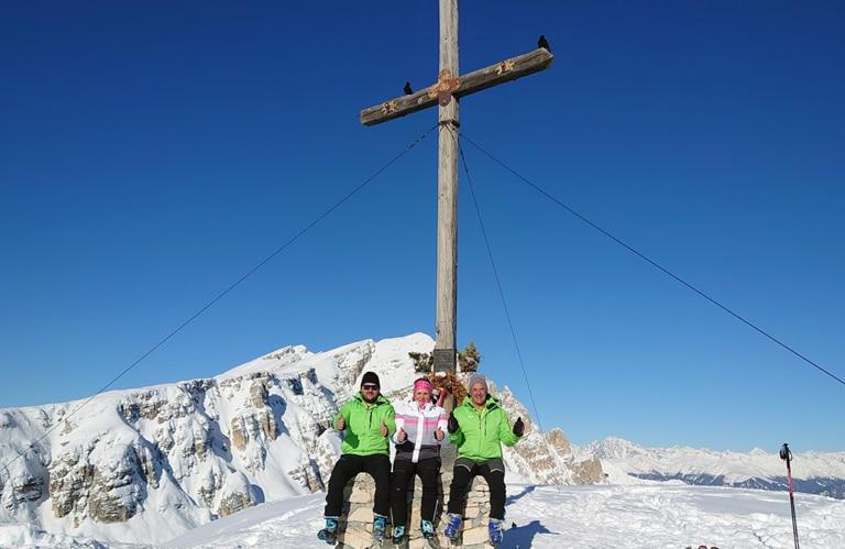 Strudelkopf - Winterwanderung Pragsertal - Südtirol