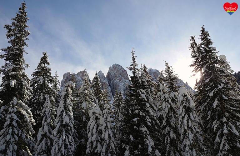 Winterwanderung Villnösseralm - Geislerhüttee