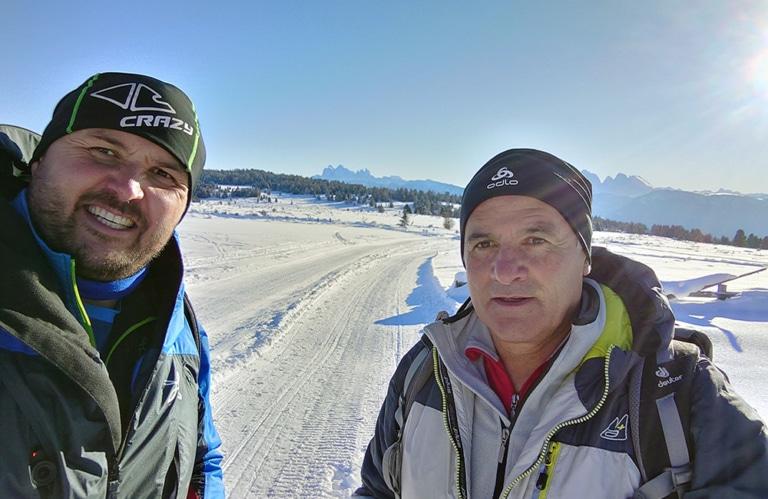 Villanderer Alm - Winterwanderung - Alm in Südtirol