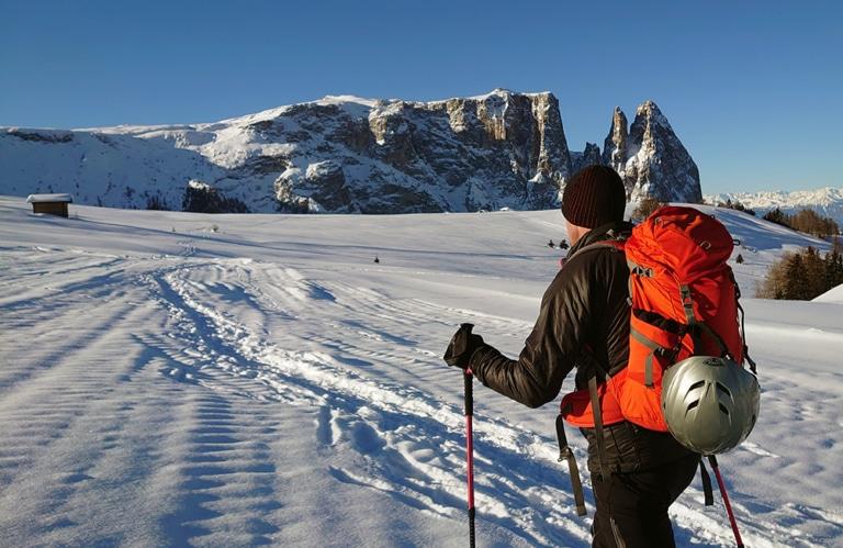 Seiseralm - Winter - Winterwandern - Südtirol