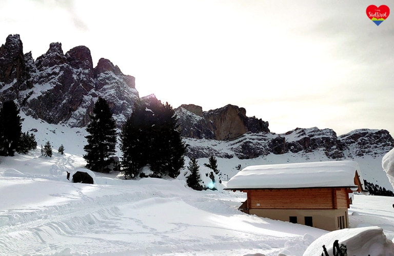 Winterwanderung Villnösseralm - Geislerhütte