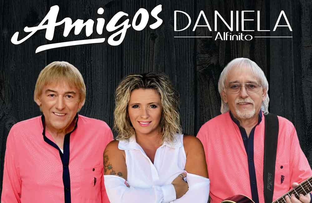 Die Amigos mit Daniela Alfinito