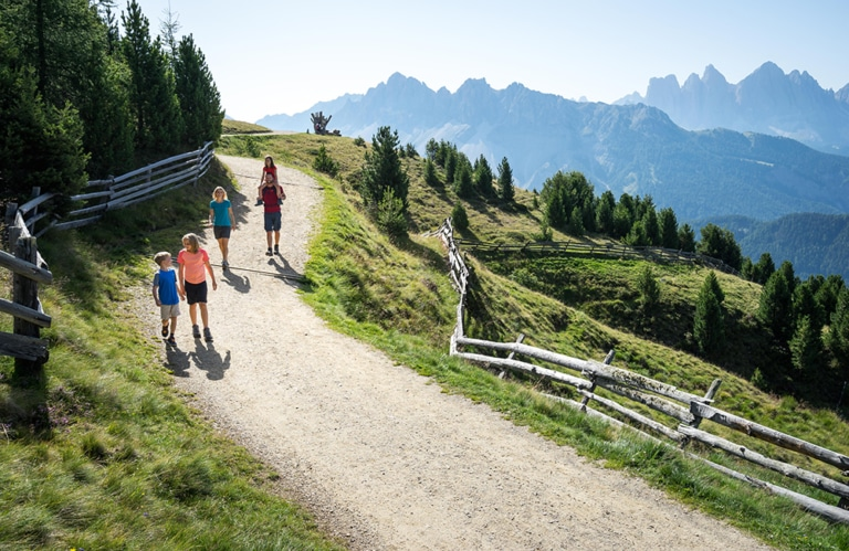 Ski & Wandergebiet Plose - traumhafter Wanderweg