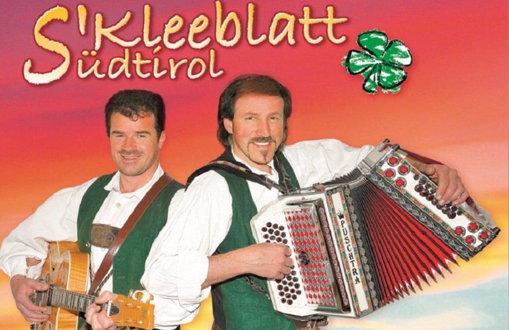 Vatertagsfet mit dem Kleeblatt Meransen Konzerte Südtirol